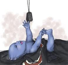 So adorable! It makes me so sad that my femShep couldn't keep her promise to Liara. I wanted those blue babies!!