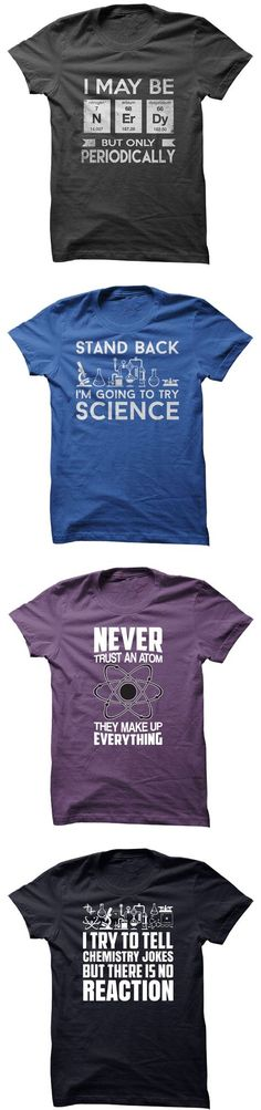 Fun Science T-shirts