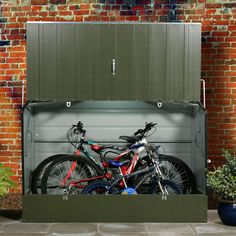 Protect A Cycle Pent Metal Bike Store | Departments | DIY at B&Q