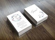 Romantic Wedding Invitation / Partecipazioni Matrimonio / Boho Style / Printable Wedding Invitation