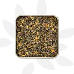 Organic Pennyroyal leaves and blossoms, organic Marigold petals, organic mandarin zest. A soothing, organic herbal drink without caffeine, with a mandarin aftertaste. Organic Herbal Tea, Organic Herbs, Medicinal Plants, Confectionery, Cold Drinks, How To Dry Basil, Herbalism, Mint, Marigold