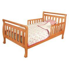 AFG International Furniture Athena Anna Toddler Bed in Pecan - Wooden Toddler Bed, Kids Toddler Bed, Baby Kids, Nursery Furniture, Kids Furniture, Wood Beds, Crib Mattress, White Bedding, Wood And Metal