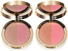 Ciate Fall 2015 Olivia Palermo Collection - The Cheekbone Cheat Blusher Bronzer Duo – New - Shades:      Bluff Point – bronze / coral     Seaside Park – bronze/dusty pink