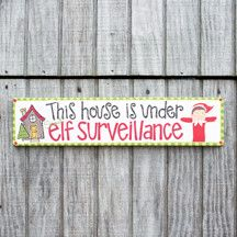 "FIND ""Under Elf Surveillance"" on FB!"