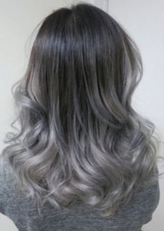 15 ideas for ash blonde and silver ombre hair. Ideas about dark ash blonde…