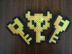 Zelda Key Set Bead Sprite. $3.00, via Etsy.