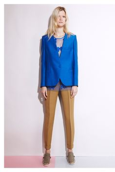 Electric blue blazer- #stellamccartney