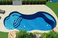 37 Gorgeous Backyard Pool Ideas with Inground Landscaping Design. If you wish to obtain the complete mind-body-spirit experience from swimming it depends on the swimming pool you pick. Backyard Pool Landscaping, Backyard Pool Designs, Small Backyard Pools, Swimming Pools Backyard, Swimming Pool Designs, Outdoor Pool, Landscaping Design, Inground Pool Designs, Lap Pools