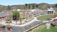 Sewickley Academy Campus view from Academy Avenue. #pittsburgh