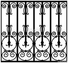 Grill Design, Metal Words, Modern Window Design, Iron Garden Gates, Windows, Wrought Iron, Window Design, Black And White, Farm House Living Room
