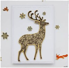 misha_cards / *Zasnežený les*