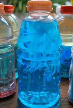 Science Bottles | Familylicious Reviews and Giveaways - lots of great preschool aged ideas
