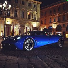 #pagani #huayra by #night !  #monaco #photographer #carporn #supercars #carspotter #supercars