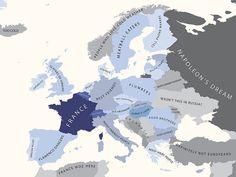 Descubra como os franceses enxergam seus vizinhos europeus.