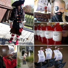 Pirate Party Collage_edited-1 by Kelly Griglione, via Flickr