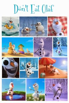 ABC and 123: Throwing a #Frozen Olaf Party