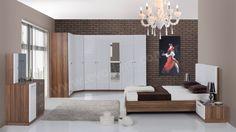 Nell Köşe Modern Yatak Odası Takımı