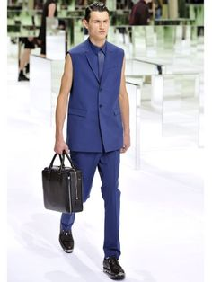 Men's Fashion Week: Great Suits for Spring/Summer 2014