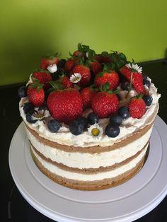 Fruchttorte mit Frischkäse-Oberscreme Tiramisu, Cake, Ethnic Recipes, Desserts, Food, Pies, Cakes, Homemade, Pie Cake