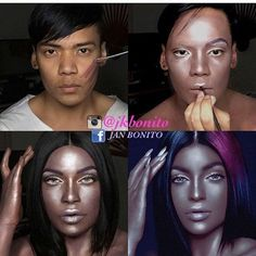 Jan Bonito Is A Makeup Genius (10 Photos)
