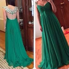 Resultado de imagen para vestidos color verde esmeralda con gasa