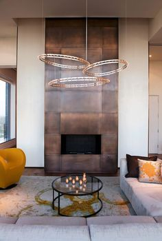 25 Stylish Ways To Clad Or Cover A Fireplace