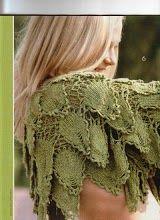 Blätter Jacke häkeln -  Crochet jacket