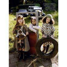 Vogue Brasil Kids Editorial Grunge on the Road, Winter 2009 Shot #5 ❤ liked on Polyvore