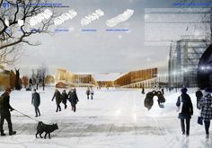 The Diagonal Agora | Helsinki Central Library Open International Architectural Competition