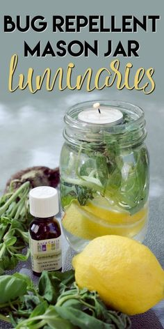 Get Rid Of Mosquitoes With This Non-Toxic DIY Mason Jar! #summer #diy #essentialoils