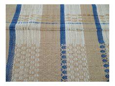 axatextiles:    ©Hexagonal |(detalle)Tejido algodón, yute, cartón. Telar de Cintura Istmo de Oaxaca.México 012