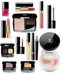 Chanel makeup. Might have to treat myself for my birthday and get myself some Chanel makeup.