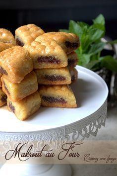 Makrout au four en vidéo Eid Cake, Tunisian Food, Algerian Recipes, Desserts With Biscuits, Ramadan Recipes, Arabic Food, Iftar, Croissants, No Cook Meals