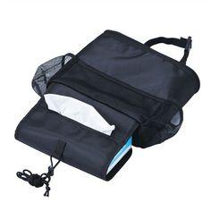 New Arrival Seat Bag Storage Multi Pocket Organizer Car Seat Back Bag Baby Cloth Bottle Food Holder T30