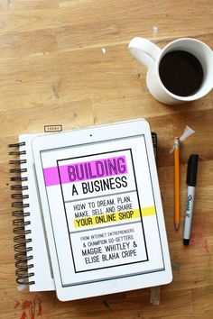 i have to start a business, things you need to start a small business, little business to start - building a business ebook :: This book looks awesome + the price is perfection. Written by two women who totally get the online business/shop world. Highly recommend. #business #entrepreneur