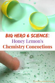 di miele al limone Chimica intrugli da Big Eroe 6. # BigHero6Release #ad