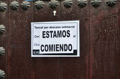Barcellona - Pausa Pranzo :-)