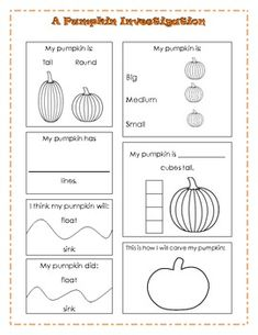 A Pumpkin Investigation