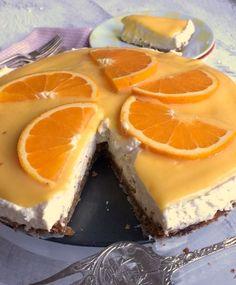 Sinaasappelkwarktaart - Smulpaapje
