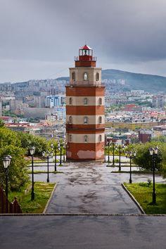Lighthouse - Murmansk, Russia