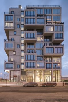 Completed in 2016 in Queens, United States. Images by Miguel de Guzmán, Bojune Kwon, Pavel Bendov. Just steps from MoMA PS1 in white hot Long Island City Queens, ODA New York is upending the real estate market with an 11-story, 175-unit rental...