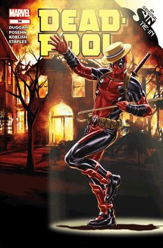 #Deadpool #Fan #Art #Gif. (3D Deadpool #34 Variant Cover) By: Mark Brooks. (THE * 5 * STÅR * ÅWARD * OF: * AW YEAH, IT'S MAJOR ÅWESOMENESS!!!™)[THANK U 4 PINNING!!!<·><]<©>ÅÅÅ+(OB4E)
