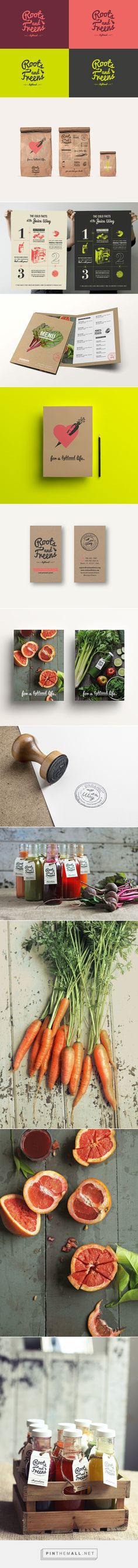 Roots & Freens on Behance curated by Packaging Diva PD. Tasty and nice packaging too.