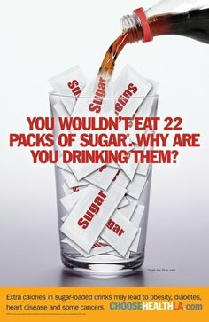 Soda really does not have a place in your life!  Truly, your body, your weight and your energy level will thank you when you give it up!