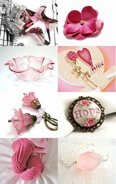 For The Love Of Pink! by Carol Schmauder on Etsy--Pinned with TreasuryPin.com