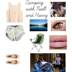 Camping with Niall and Harry