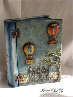 Steampunk diy 321796335868078376 - Source by momotova notebook homemade journal how to make Diy And Crafts, Arts And Crafts, Paper Crafts, Geek Crafts, Altered Boxes, Mixed Media Boxes, Homemade Journal, Painted Wooden Boxes, Woodworking Crafts