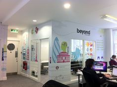 Beyond Office. Wall Graphics