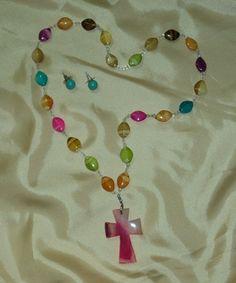 Collar rosarino