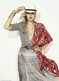 Hilary Blonde: Gigi Hadid protagonista de S Moda El País